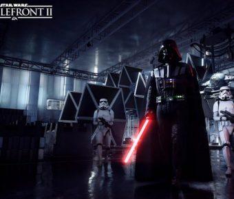 Darth Vader v Star Wars Battlefront II