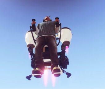 Nový jetpack v singleplayeru GTA V