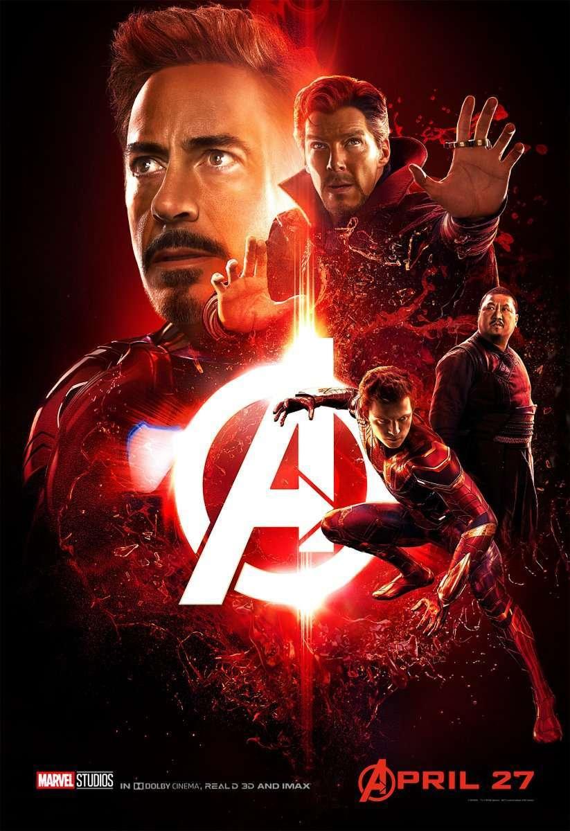 Nové Plakáty Avengers Infinity War