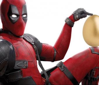 Velikonoční plakát s Deadpoolem