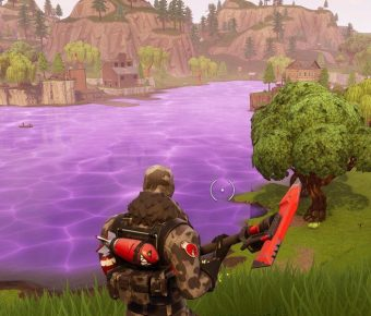 Na Loot Lake ve Fortnite se nyní dá skákat!