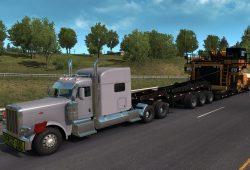 V novém DLC pro American Truck Simulator můžeme převážet domy!