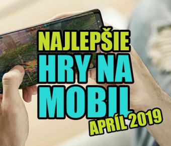 Nejlepší HRY NA MOBIL za duben (apríl) 2019!