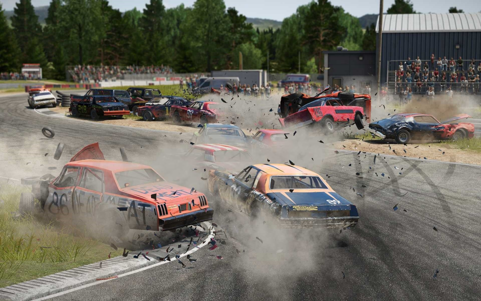 wreckfest wallpaper