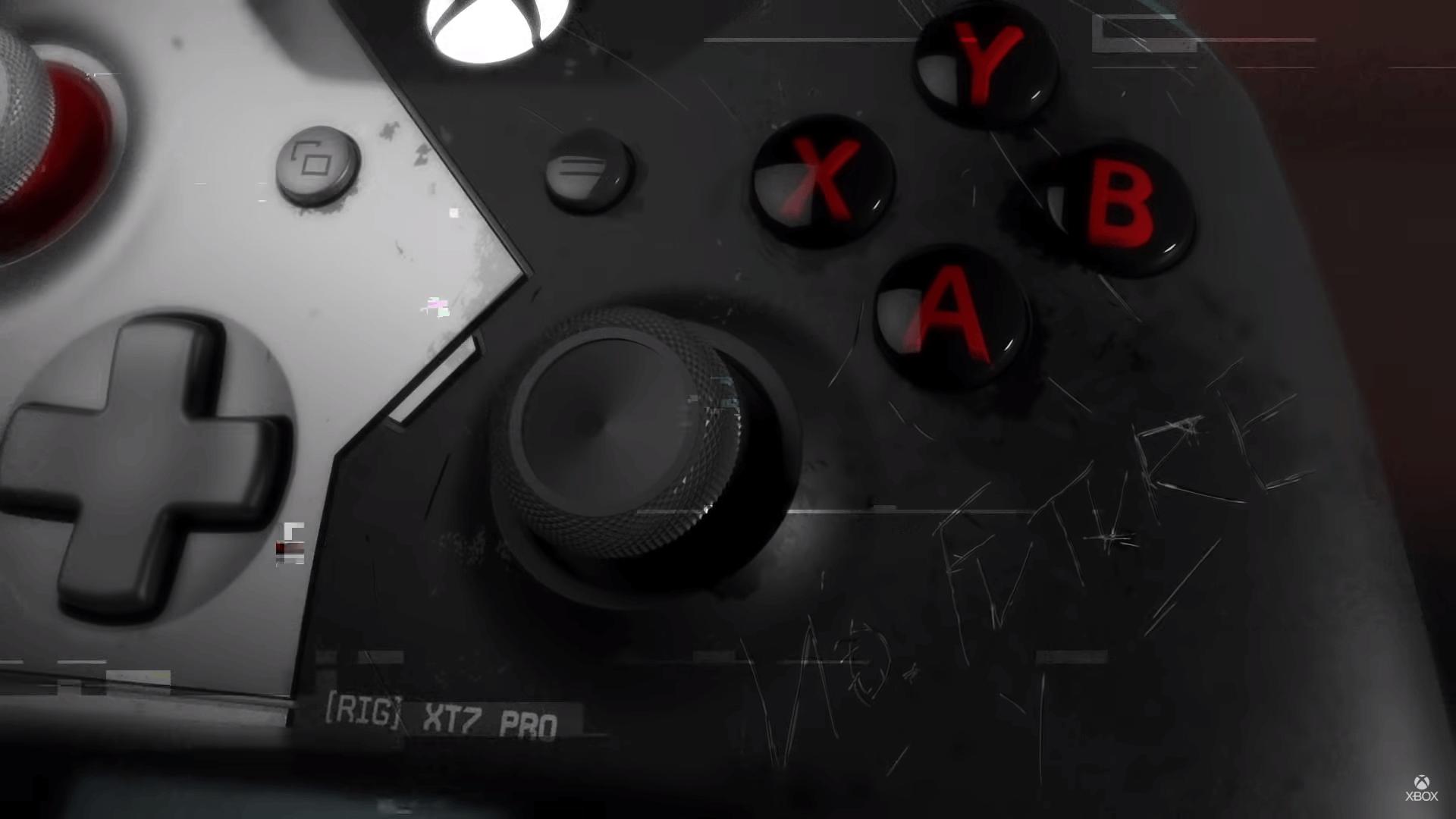 Controller Xbox One X Cyberpunk 2077 lymited edition bundle screnshot