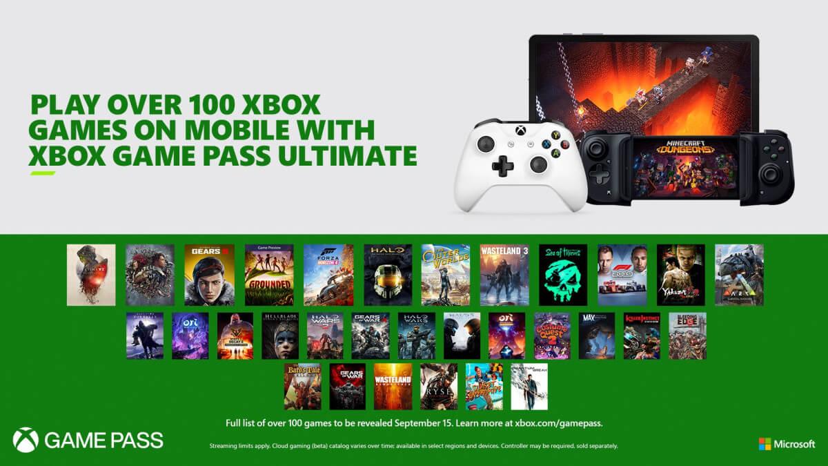 Projekt xCloud umožní hrát Xbox hry na mobilu