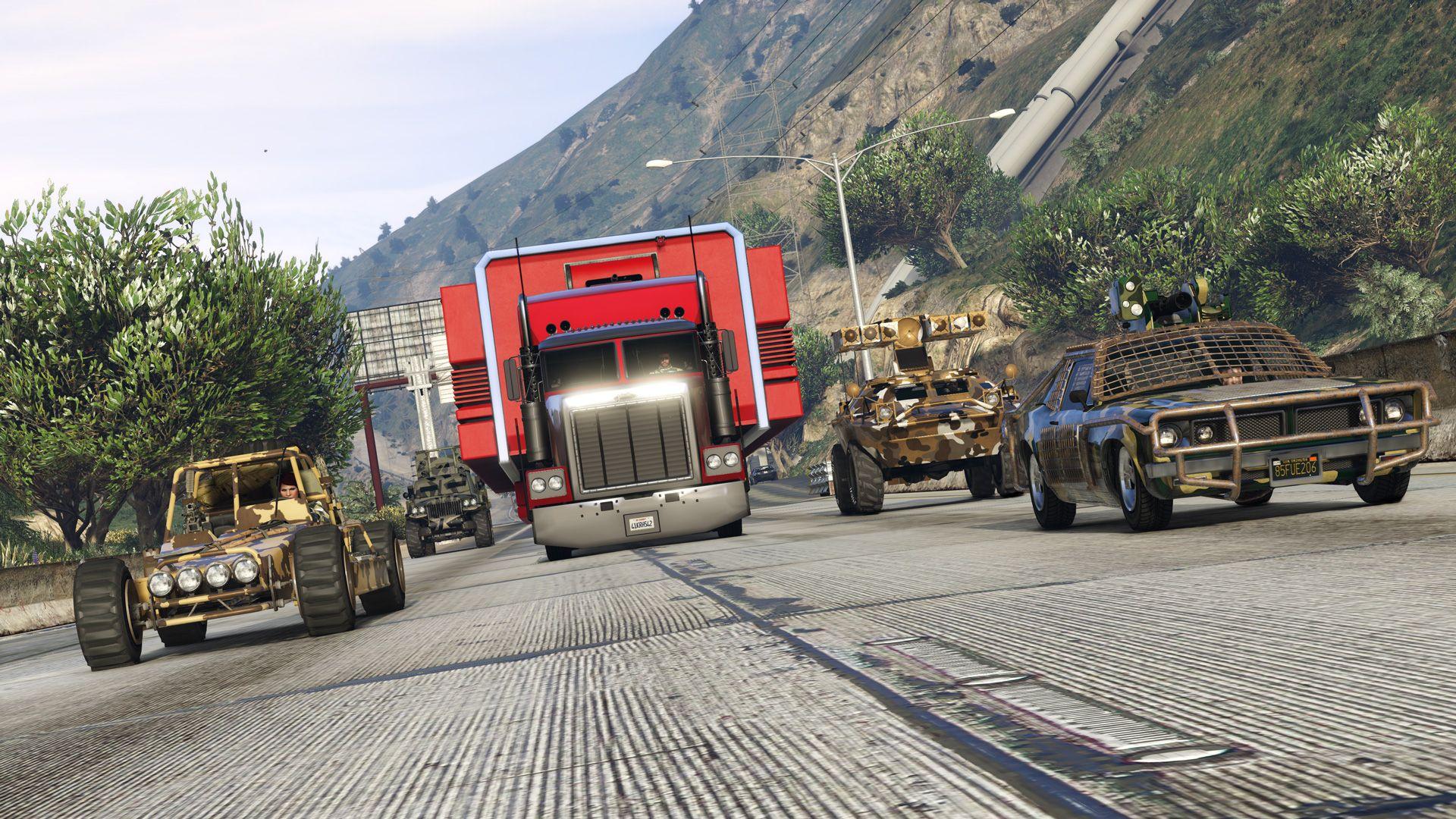 Prevoz zbraní v GTA: Online
