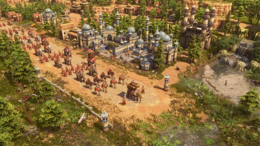 age of empires 3: definitive edition army screenshot