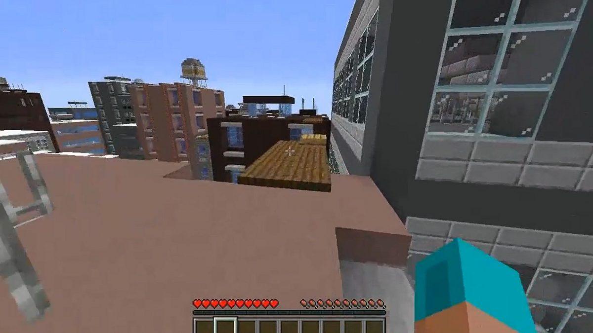 Minecraft mód Mirror's Edge