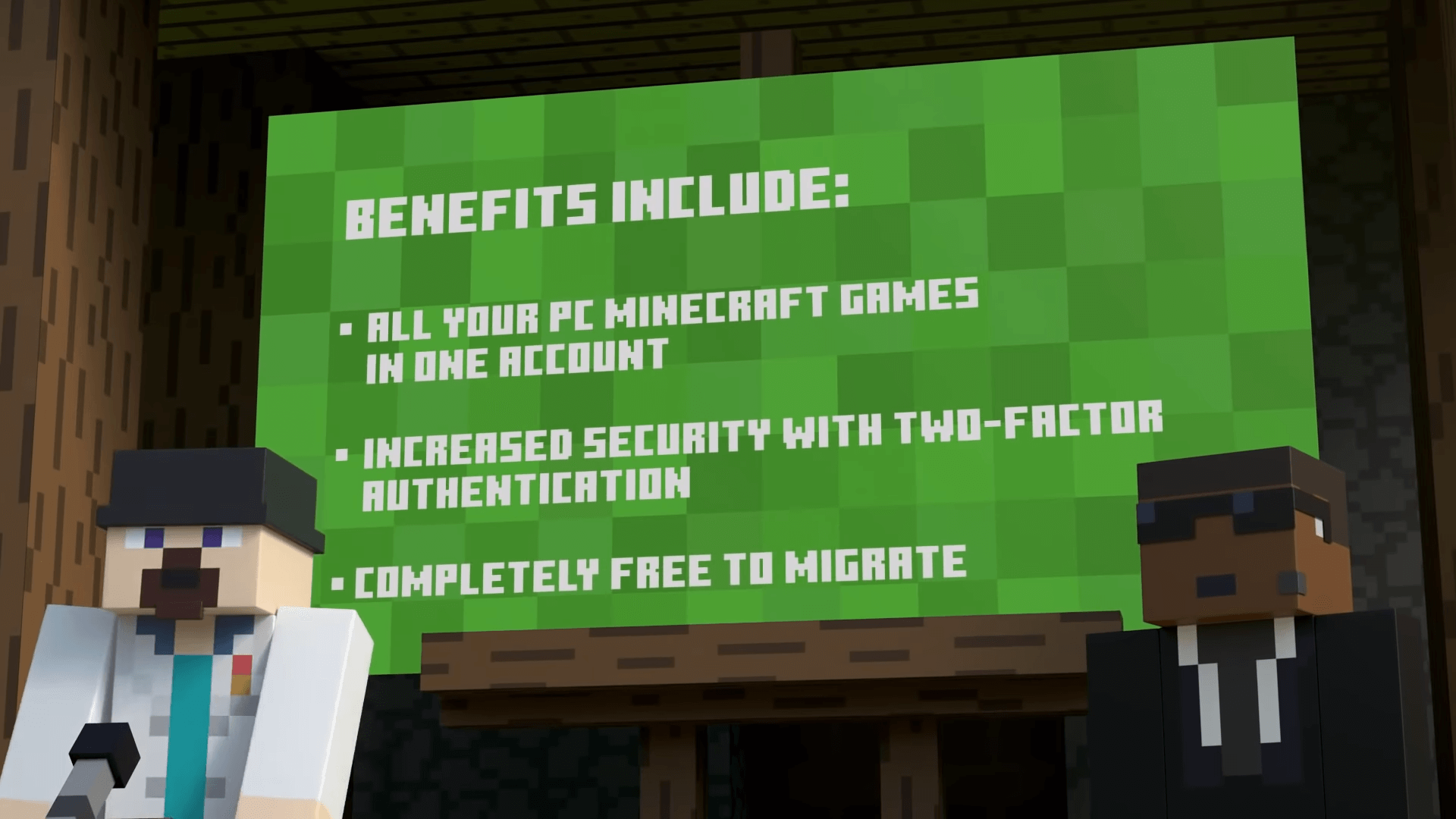 Minecraft featuries