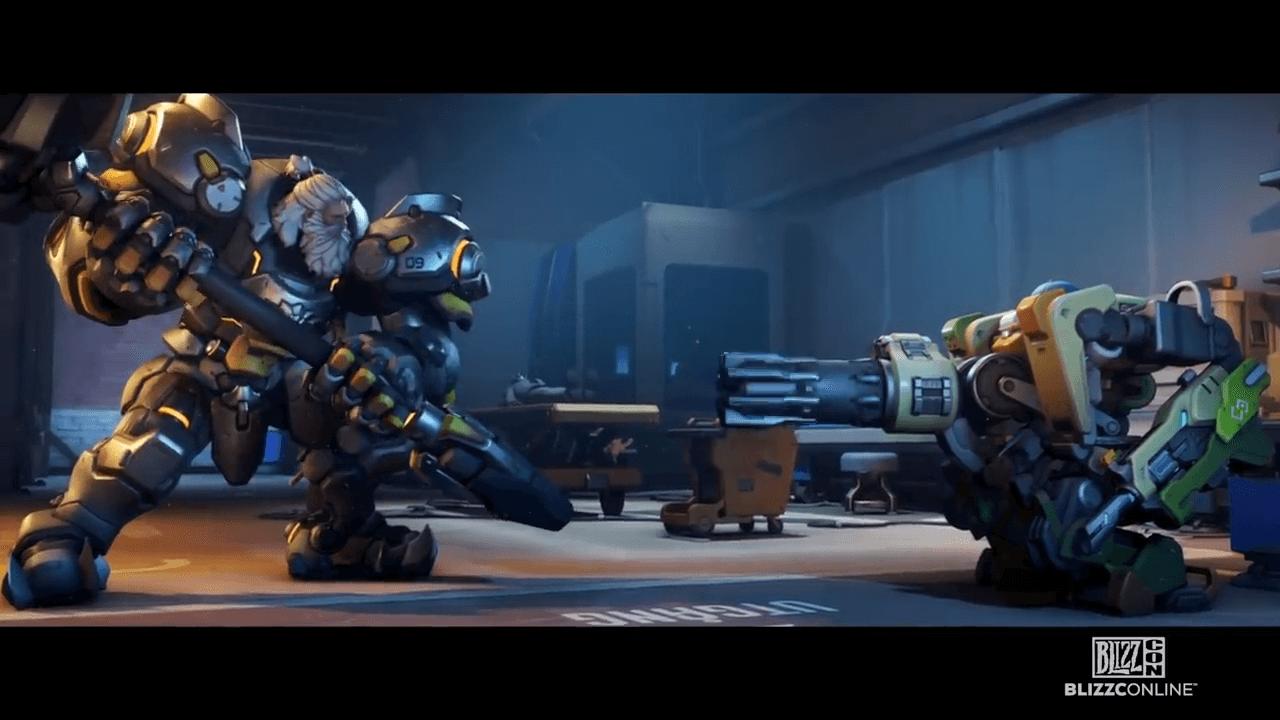 Overwatch 2 Bastion vs Reinhardt